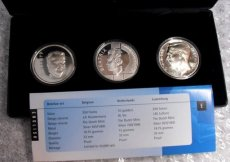 Benelux set 1994, zilver, proof